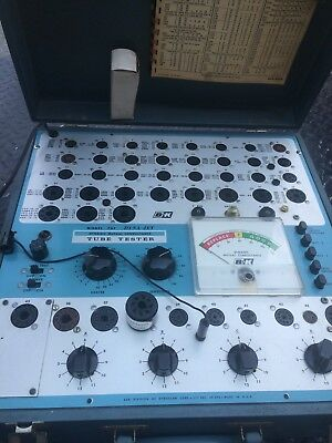 B & K vacuum tube tester model 707