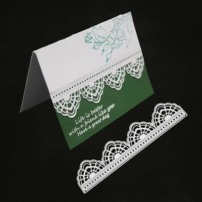 Lace Flower Cutting Dies Stencil DIY Scrapbooking Paper Card Embossing Decor