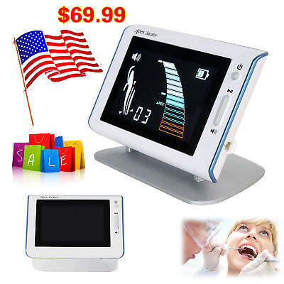 """CICADA Dental DTE DPEX III Endodontic 4.5""""LCD Root Canal Finder Apex Locator XP3"""