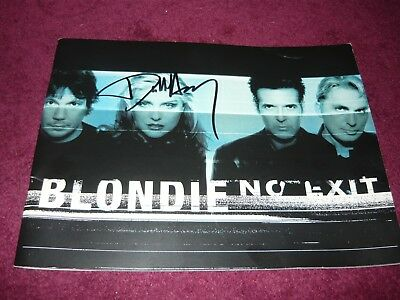 Blondie Programme signed by Debbie Harry, good condition, 'No Exit'