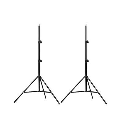 Studio Tripod Stand x 2 | Heavy Duty Professional Photography Support | 86-143cm