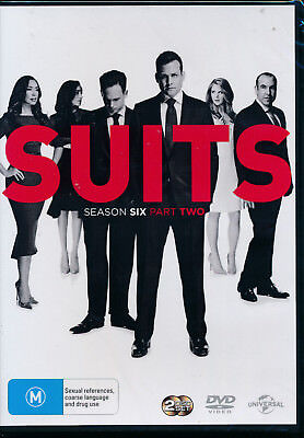 Suits Season 6 Six Part 2 Two DVD Region 4 NEW
