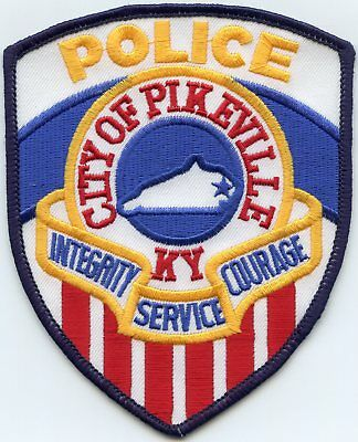 PIKEVILLE KENTUCKY KY very colorful POLICE PATCH