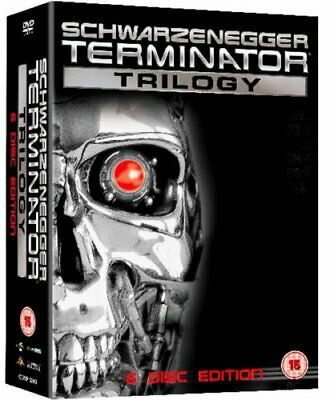 The Terminator Trilogy [DVD] -  CD P8VG The Fast Free Shipping