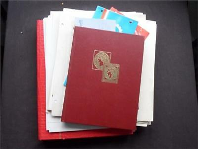 13569aj  WORLD MINT & USED STAMPS & MINI SHEETS COLLECTION INCL SEVERAL B. COMM