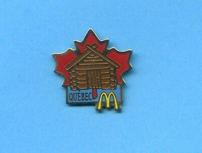 Pins Mc Donald's Quebec Canada Us202
