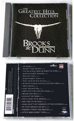 BROOKS & DUNN Greatest Hits / 19 Tracks .. 1997 Arista CD TOP