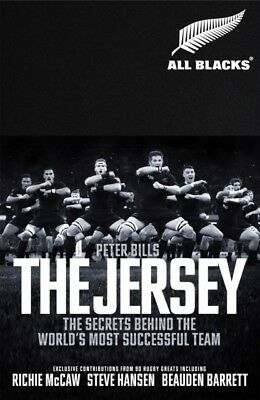 The Jersey : The All Blacks  by Peter Bills  9781509856688