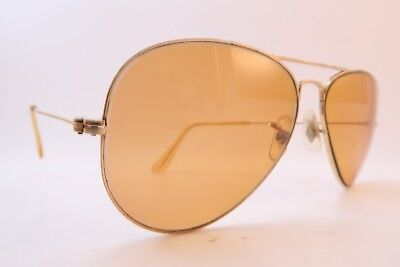 Vintage B&L Ray Ban sunglasses aviator size 58-14 made in the USA