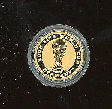 2006 1/25oz Gold Proof Coin - FIFA World Cup