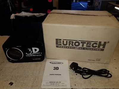Eurotech 3D Visual Goboflower Dj Lighting Effect 250W Disco Club Fx