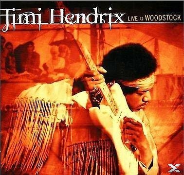 Live at Woodstock - HENDRIX JIMI [2x CD]