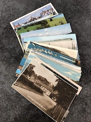 postcards   over 40  mixed used and unused etc