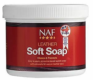 NAF Leather Soft Soap - For Saddles, Bridles and all Tack - 450G -BN