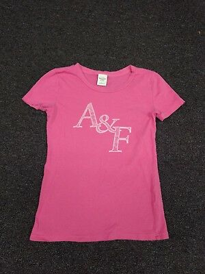 Abercrombie & Fitch T-Shirt Pink Size Small Womens