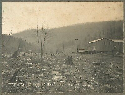 1903 DODSON MD * BOARDING HOUSE AT MAPLE RUN WV 6x8 Donovan Photo GHOST TOWN