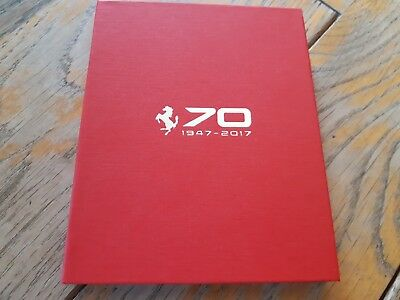 Brochure / USB key FERRARI 70 years - Limited Edition