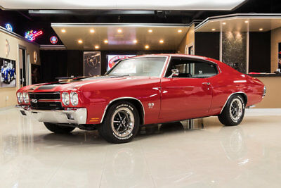 Chevrolet Chevelle SS Frame Off Restored SS! GM 502ci RamJet V8 Crate Engine (502hp) Auto, PS, PB, A/C