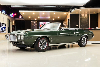Pontiac Firebird Convertible Frame Off Restored! # Matching 400ci V8, TH400 Automatic, PS, PB, Award Winner!
