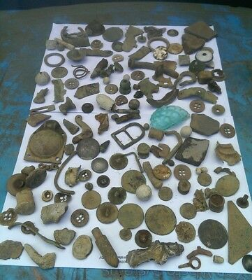 metal detecting finds roman saxon medieval to victorian