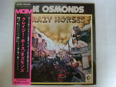 The Osmonds Crazy Horses / With Obi
