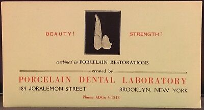Ink Blotter ~ Porcelain Dental Laboratory ~ Brooklyn NY ~ Tooth Restoration