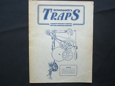 GRIMTOOTH'S TRAP Game-Master Aid for Role-Playing Systems 1st Printing 1981 8501