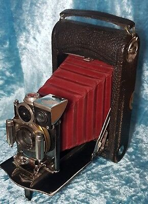 Vintage Fold Out Kodak Camera With Zeiss Lens