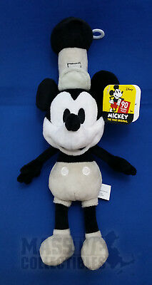 Disney Mickey Mouse 90 Years of Magic True Original Steamboat Willie plush NWT