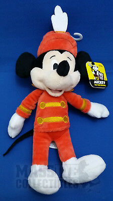 """Disney Mickey Mouse 90 Years of Magic True Original Mousketeer 8"""" plush NWT"""