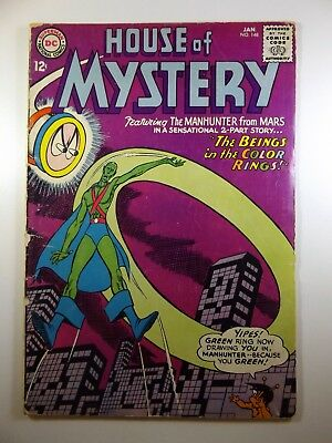 "The House of Mystery #148 ""The Beings In The Color Rings!"" Solid VG- Condition!!"