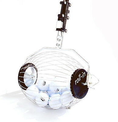 Kollectaball Bag Buddy Ball Collector / Retriever to Pick Up Golf Balls