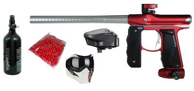 Paintball Empire Package - Mini GS + HPA Tank + Grill Mask + Halo 2 + Paintballs