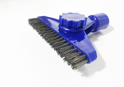 Stainless Steel Blue Grout Brush