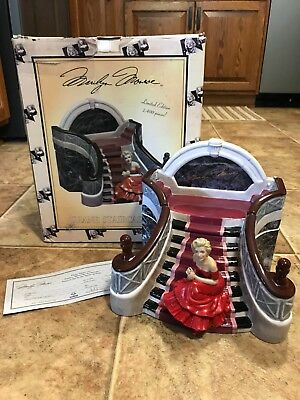 Marilyn Monroe  Grand Staircase Box Cookie Jar  Limited Edition # 372 Of 2400