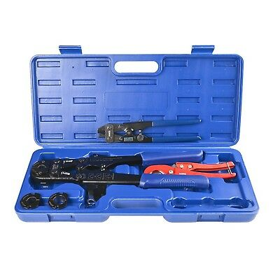 """IWISS® F1807 Copper Ring Crimping Tool Kit for 3/8"""",1/2"""",3/4"""",1"""" - Free Remov..."""