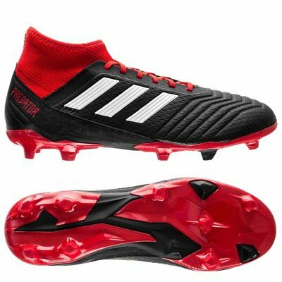 5a82f8d3c adidas Predator 18.3 FG 2018 Soccer Cleats Shoes Brand New Black Red White