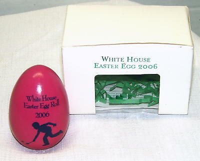 2006 White House Pink Easter Egg Roll George & Laura Bush