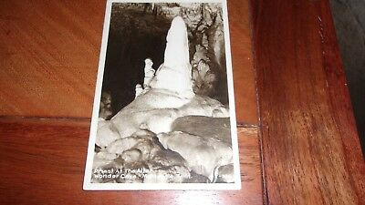 RPPC Monteagle, Tennessee - Priest at The Altar, Wonder Cave (e)