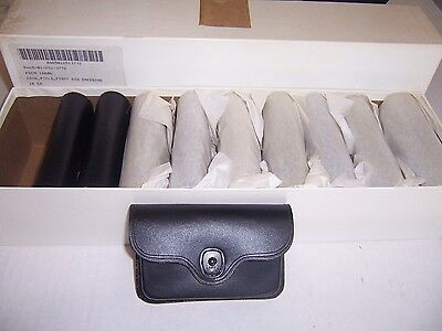 10 PCS Leather First aid kit case field dressing US ARMY MP NEW FULL CASE