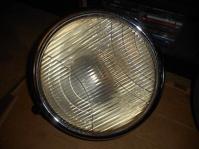 C.M. Hall Co. Lot Of Two Depress Beam Headlamps