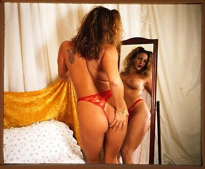 Stereo Realist slide Nude / Glamour ca 1970s-80s - J02