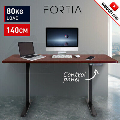 Height Adjustable Standing Desk Sit Stand Up Motorised Electric Office Table