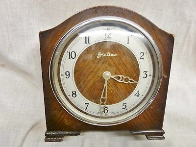 bentima 8 day mantel clock oak case high quality davall platform escapement 50s