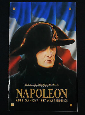 Napoleon R82 * Abel Gance * Radio City Music Hall Souvenir Program * Near Mint!!