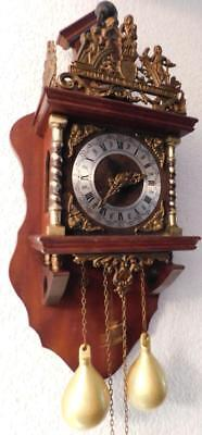 dutch zandaam wall clock