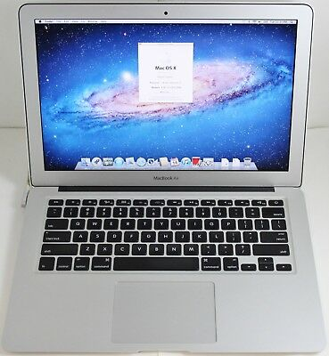 """Apple MacBook Air 13.3"""" Mid 2011 - Core i7 1.8GHz 4GB RAM 250GB SSD - No Charger"""