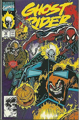 Ghost Rider #16 (August 1991, Marvel) Spider-Man Discount Shipping