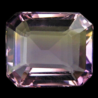 5.89 Ct Delightful! Genuine Natural Shinning Bi-Color Ametrine.