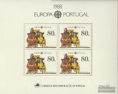 Portugal Block57 (kompl.Ausg.) gestempelt 1988 Transport